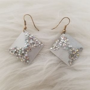 Rhinestones Earrings